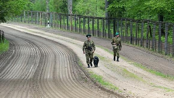 gpk.gov.by nuotr./Baltarusijos pasieniečiai