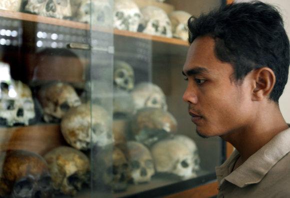 "AFP/""Scanpix"" nuotr./Tuol Slengo muziejus"