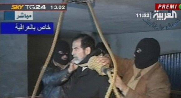 """Scanpix""/""Stella Pictures"" nuotr./Saddamo Husseino egzekucija (2006 m. gruodžio 30 d.)"