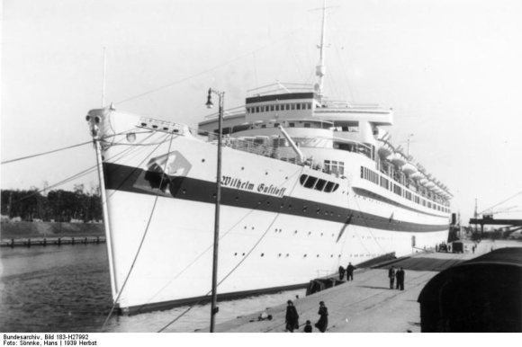 """Vokietijos Bundesarchyvo/Wikimedia.org nuotr./""""Wilhelm Gustloff"""""""