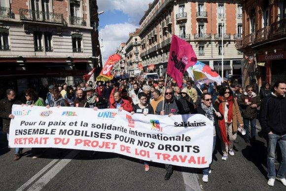 """AFP/""""Scanpix"""" nuotr./Protestai Prancūzijoje"""
