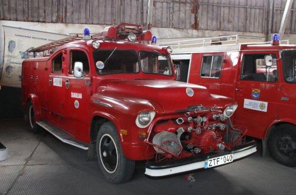Šiaulių AUŠROS muziejaus archyvo nuotr./Chevrolet, 1957 m.