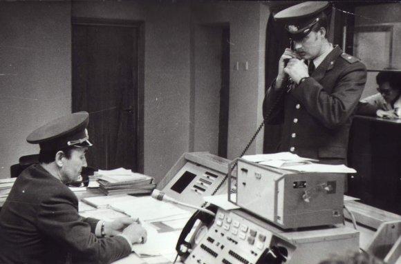 Policija.lt iliustr./Lietuvos kelių policija 1991 m. sausio 13 d.
