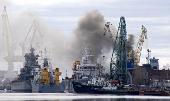"""AFP/""""Scanpix"""" nuotr./Rusijos povandeninis laivas """"Oriol"""""""