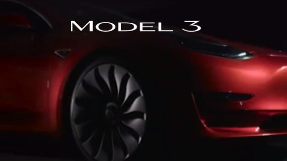 """""""Tesla Model 3"""" logotipas"""