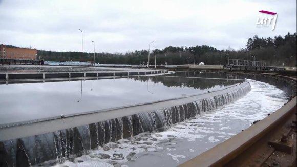 """""""Mokslo sriuba"""": kur keliauja kanalizacijos vamzdžiais nuleistas vanduo?"""