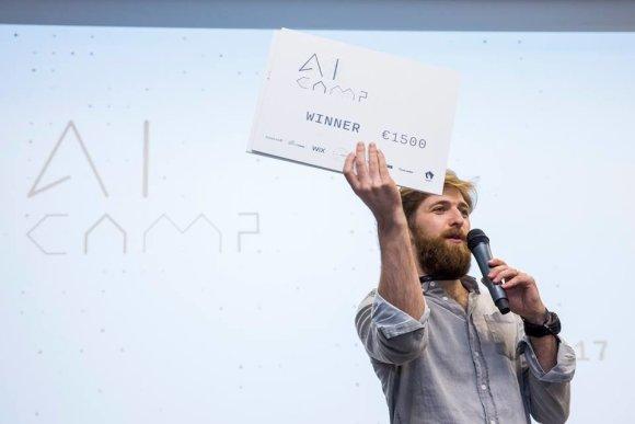 AI CAMP organizatorių nuotr./Tomas Dirvonskas