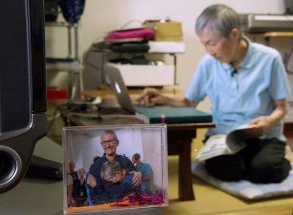 """AFP/""""Scanpix"""" nuotr./Masako Wakamiya - """"iPhone"""" programėlių kūrėja"""