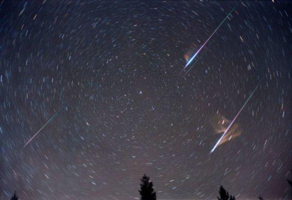Lietuvos dangų rugpjūtį ir vėl skrodžia meteorų strėlės. Šaltinis: 15min.lt