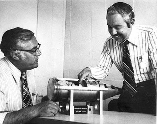 US-Department of Energy | commons.wikimedia.org/W48 buvo sukurtas iššauti iš 155 milimetrų patrankos