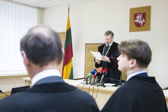 Irmanto Gelūno / 15min nuotr./Aukščiausiasis Teismas paskelbė sprendimą Sergejaus Rachinšteino byloje