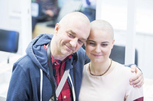 Irmanto Gelūno/15min.lt nuotr./Andrius Mamontovas ir Ieva Krivickaitė