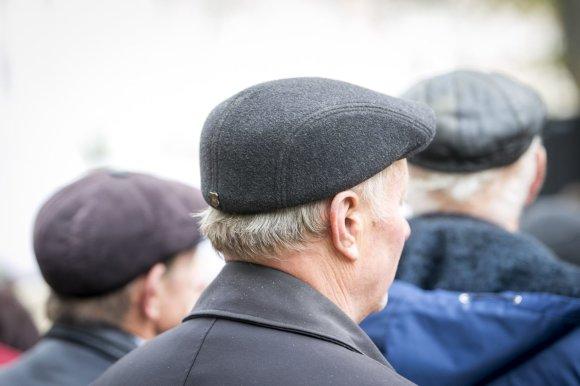 Irmanto Gelūno/15min.lt nuotr./Lietuvos lenkų organizuotas mitingas