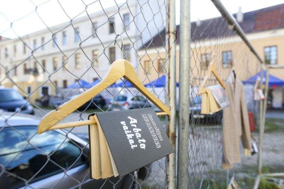 "Irmanto Gelūno/15min.lt nuotr./""(Re)Start"": urbanistinis skaitymo festivalis"