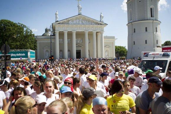 "Irmanto Gelūno/15min.lt nuotr./""We run Vilnius/DNB pusmaratonio"" bėgimas"