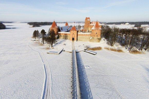 Irmanto Gelūno / 15min nuotr./Trakų pilis