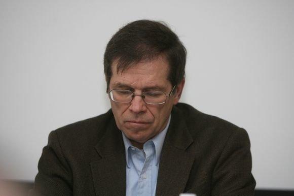 Juliaus Kalinsko/15min.lt nuotr./Žurnalistas bei politologas Kęstutis Girnius
