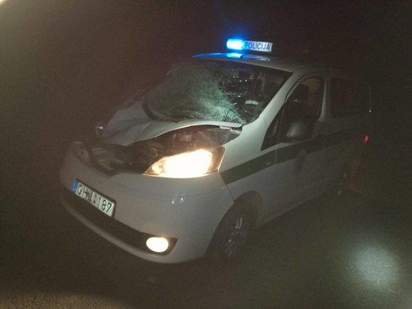 Policijos nuotr./Įvykio vietoje