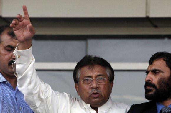 """""""Reuters""""/""""Scanpix"""" nuotr./Pervezas Musharrafas"""