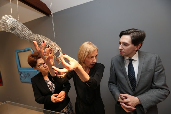 """Organizatorių nuotr./Dizaino paroda """"Baltic links"""" Dubline"""