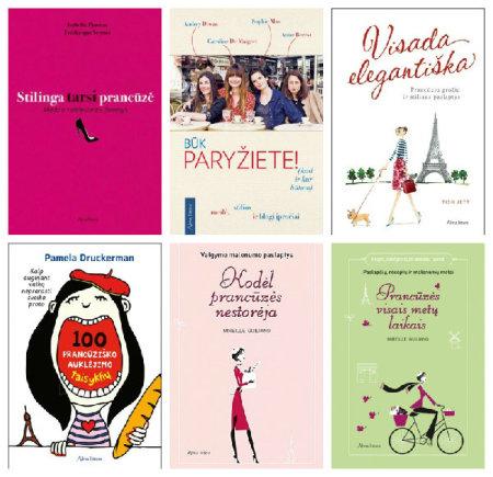 Vida Press nuotr./Knygos apie paryžietišką gyvenimo būdą