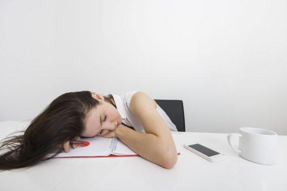 Vida Press nuotr./Pavargusi moteris
