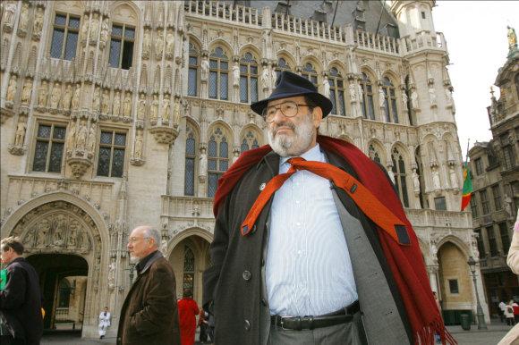 Vida Press nuotr./Umberto Eco