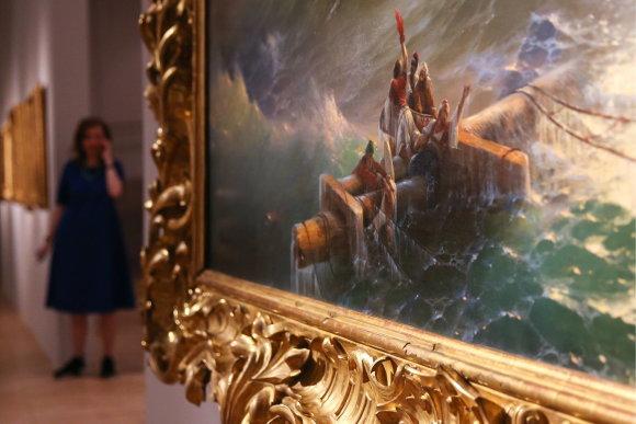 Vida Press nuotr./Ivano Aivazovskio darbų parodoje