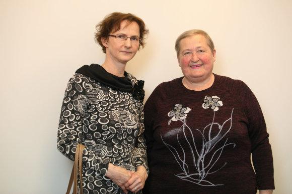 Eriko Ovčarenko / 15min nuotr./Gydytoja Vilma Labutienė ir Elvyra Pažerienė