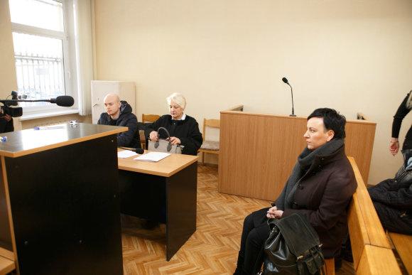 Eriko Ovčarenko / 15min nuotr./A.Kuršentaičio teismas