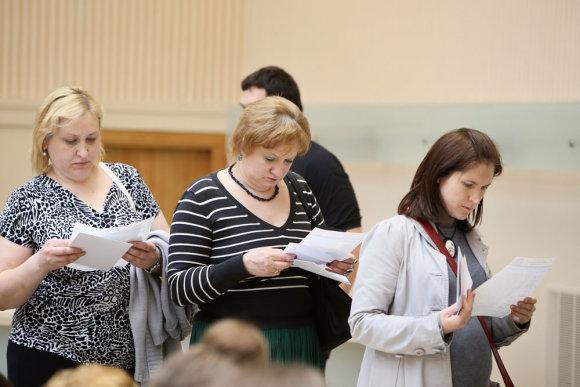 Eriko Ovčarenko/15min.lt nuotr./Išankstinis balsavimas