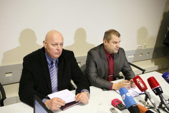 Eriko Ovčarenko/15min.lt nuotr./Valdas Buinickas ir Andrius Kiuršinas