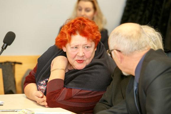 Eriko Ovčarenko / 15min nuotr./Advokatė Regina Šaltinienė