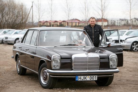 Eriko Ovčarenko/15min.lt nuotr./Restauruotas automobilis