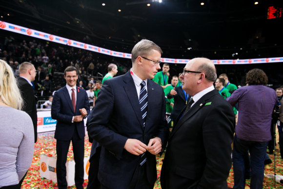 Eriko Ovčarenko/15min.lt nuotr./Andrius Kupčinskas ir Visvaldas Matijošaitis