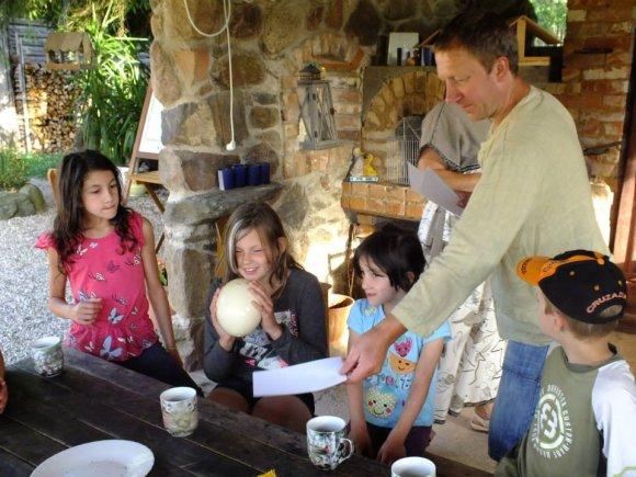 Į edukacinę veiklą įsitraukė visa Rakauskų šeima