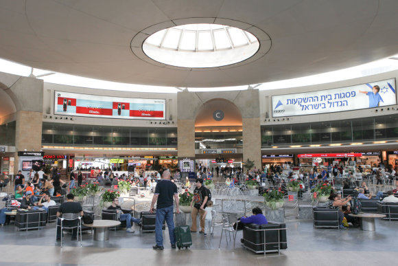 123rf.com nuotr./Ben Gurion oro uoste