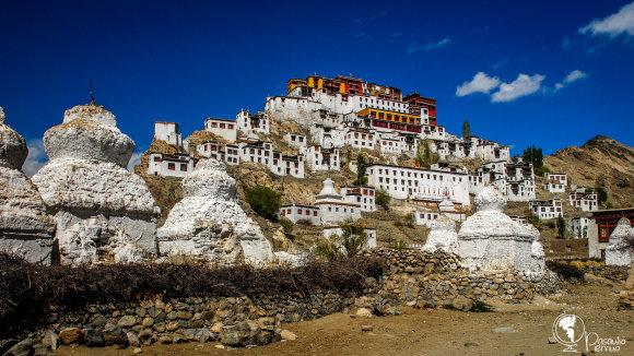 Tomo Baranausko nuotr./Ladake dominuoja budizmas, stūkso snieguoti Himalajai ir puikiai išlikę atokūs vienuolynai