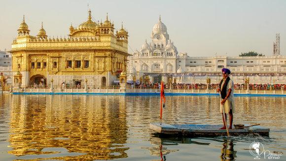 Tomo Baranausko nuotr./Auksinė Šventykla Amritsare, Pandžiabo valstijoje