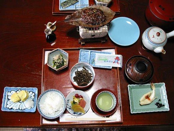 Japaneseguesthouses.com/Vakarienė ryokan tipo viešbutyje