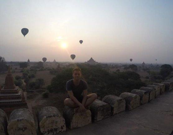 Asmeninio albumo nuotr./Bagano šventyklos Mianmare