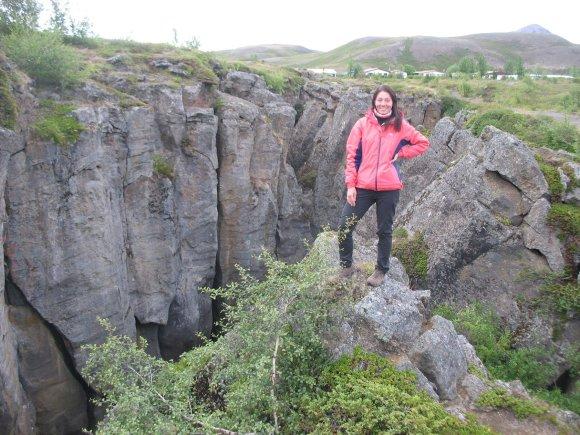 """Juozapas.lt nuotr./Islandijos """"užkariautoja"""" – Ingrida"""