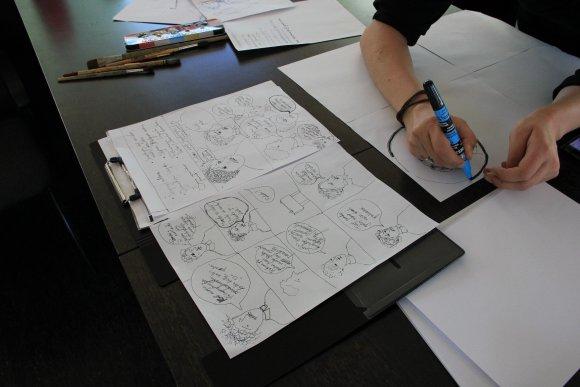 Muziejaus nuotr./Kuriamas komiksas apie Čiurlionį