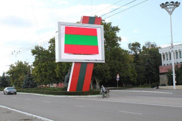 Vaido Mikaičio nuotr./Reklamos Tiraspolyje