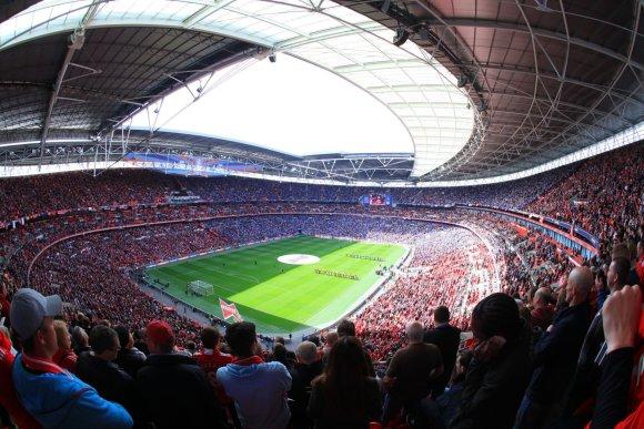 123rf.com nuotr./Londono Vemblio stadionas