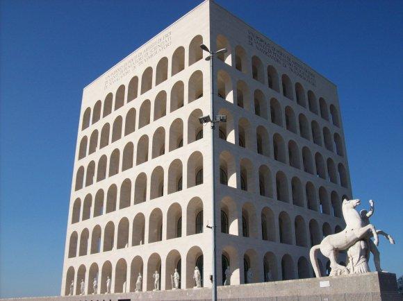 it.wikipedia.org nuotr/Palazzo della Civiltà del Lavoro