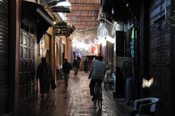 123rf.com nuotr./Paslaptingos Marakešo gatvelės
