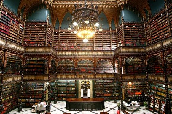 Karališkoji portugalų skaitykla stovi ne Europoje, o Brazilijos mieste Rio de Žaneire.