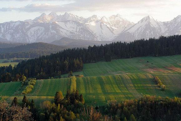Tatrų nacionalinis parkas rudenį