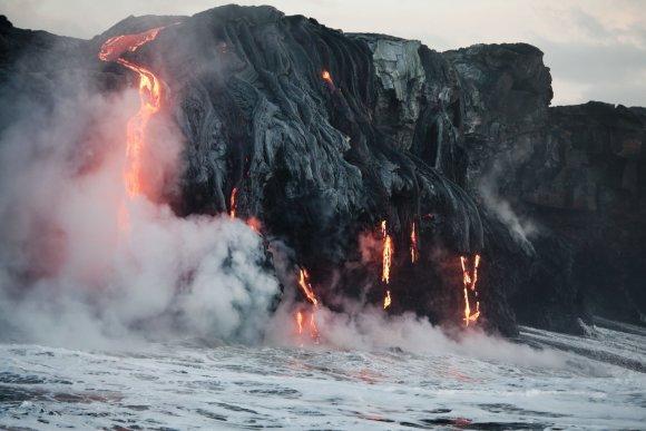 Ugnikalnio išsiveržimas Havajuose